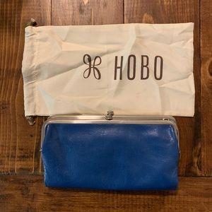 Hobo Lauren Clutch Wallet in Bayou Blue NWOT